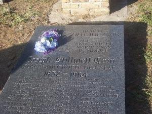 Joe Cain's Burial Site