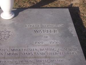 Grave of Eugene Walter